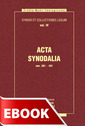 Acta Synodalia - od 381 do 431 roku