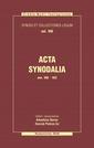 Acta Synodalia - Od 506 do 553 roku