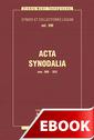 Acta Synodalia od 506 do 553