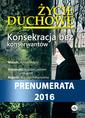 Życie Duchowe - prenumerata 2016