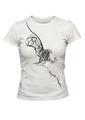 Koszulka damska biała - Bądź prosty - Nie komplikuj