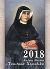Okladka: Kalendarz - święta Siostra Faustyna Kowalska