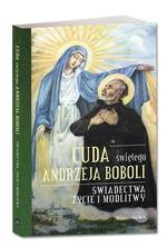 Okladka: Cuda świętego Andrzeja Boboli